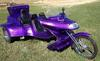1994 VW Roadhawk Road Hawk Trike w Metallic Purple Motorcycle Paint Colo