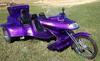 1994 VW Roadhawk Road Hawk Trike w Metallic Purple Motorcycle Paint Colo