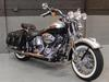 Fuel Injected 2003 Harley Davidson Softail HERITAGE SPRINGER FLSTSI with VIVID BLACK AND STERLING SILVER PAINT COLOR OPTION