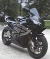 Jet Black 2003 Honda CBR 600RR with Lots of Aftermarket Parts and Accessories