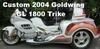 2004 Honda Goldwing GL 1800 GL1800 Motorcycle Trike Conversion
