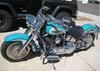 Robin Egg Blue 2005 Harley Davidson Fatboy