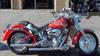 2005 Harley Davidson Softail FLSTF Fatboy Fat Boy w ELECRIC CHERRY RED PAINT JOB and PINSTRIPES