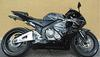 Black and Silver Gray  2005 Honda Cbr600rr