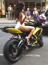 Custom Black and Yellow 2006 Suzuki GSXR 750