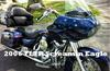 2006 Harley Davidson FLTR Screamin' Eagle Road King with a Custom American Flag Francis Scott Key Motorcycle Paint Job