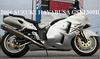 2006 Hayabusa Suzuki GSX1300R w Limited Edition Silver and White Paint Color (example only)