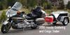 2006 Honda Goldwing and Enclosed Cargo Trailer