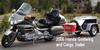 2006 Honda Goldwing and Enclosed Cargo Trailer