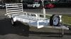 All metal Zeiman trailer 14'X5' (this photo is for example only; please contact seller for pics of the actual motorcycle trailer for sale in this classified)