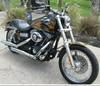 2007 CUSTOM HARLEY DAVIDSON STREET BOB with a custom motorcycle paint job