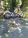 2007 HARLEY FATBOY w yellow pearl paint color for Sale in New York NY