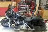 Black and Chrome 2007 Harley Davidson Street Glide w $3000 in Extras