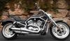 2007 Harley Davidson V ROD w Black Cherry and Brilliant Silver Paint color Option
