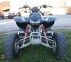 Black 2007 Honda 400EX ATV 4 Wheeler Quad with a black primary paint color