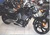 Black 2007 Victory 8 Ball w swept exhaust pipes and a passenger seat