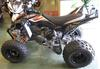 2007 Yamaha RAPTOR 350 w orange and black paint color scheme