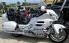 2008 Honda Goldwing with Pearl White Paint Color