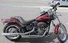 2008 Harley Davidson FXSTB Night Train w Crimson Red Sunglo Paint color and Screamin Eagle Intake and Slip-On Exhaust, a Harley Davidson 103ci Bore Kit and HD cams
