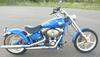 Blue Pearl 2008 Harley Davidson Rocker C