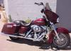 2008 Harley Davidson Street Glide w Screamin Eagle pipes, Highway lights, highway pegs, chrome trim on bags, bagger bars