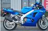 2008 Kawasaki ZZR 600 w blue paint color option