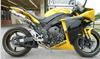 2009 Yamaha YZF R1 Sport Bike with Bright Yellow Paint Color Option