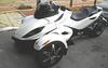 2010 Can Am Spyder RS-S SE5 wTwo brothers exhaust. juice box, sporty front rims, an electronic shifter, no clutch, paddle shift with thumb, 5 speed transmission with reverse