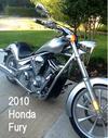 2010 Honda Fury VT1300