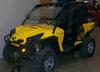 2011 CAN AM COMMANDER XT 1000 THAT HAS A 4000# WINCH, FUEL INJECTION V TWIN 85 HP ENGINE, ALUMINUM VISION RIMS AND GRIM REAPER TIRES, SPLIT WINDSHIELD AND REAR SCREEN, TILT STEERING & DUMP BOX