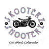 2013 Skooterz & Shooterz Motorcycle Rally Flyer Logo