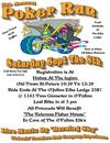 4th Annual Ofallon Elks Motorcycle Poker Run Flyer Poster