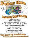4th Annual Ofallon Elks Motorcycle Poker Run Flyer Poster