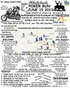 5th Annual Whitetails Charity Motorcycle Poker Run in Iowa Rally Flyer