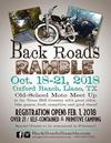 Back Roads Ramble in Texas Flyer Poster