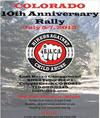 Bikers Against Child Abuse Rally in Colorado Poster