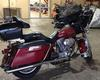 Classic 2006 Harley Davidson Electra Glide FLHT w maroon paint color and generic tour pack with quick release levers