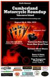 Cumberland Motorcycle Roundup Rally Poster Flyer