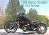 Custom 1984 Honda Shadow RAT Bobber Motorcycle for Sale by Individual Owner