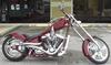Custom 2002 Paul Yaffe Chopper w Chrome Deuce 10