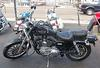 2003 Harley Davidson 100th Anniversary Sportster w BLACK METAL FLAKE Metallica PAINT JOB WITH GREEN PINSTRIPING