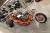 Custom built v8 chevy trike motorcycle w a 350 engine