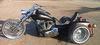 Custom Harley Davidson Trike for Sale w Electra Glide Motor, a Custom frame with 5