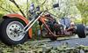 Custom V8 Trike Motorcycle
