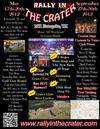 H2O Motorcycle Rally in the Crater Poster Flyer