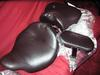 New Harley Davidson signature solo seat back rest and pillion pad