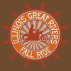 Illinois Great Rivers Fall Motorcycle Ride Poster Flyer