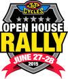 J&P Cycles Open House Motorcycle Rally Flyer Poster 2015