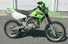 Lime Green Kawasaki KDX 200 dirt bike motorcycle (this photo is for example only; please contact seller for pics of the actual motorcycle for sale in this classified)