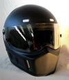 Flat matte black SIMPSON BANDIT Style Motorcycle Helmets DOT approved